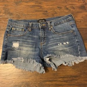Fabrik Denim Shorts